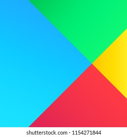 Google play abstract colorfull background. Vector illustration. EPS 10