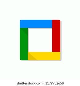 Google Rixxo app . Color icon. Vector illustration. EPS 10.