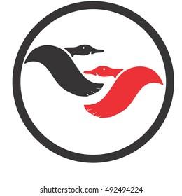 goose vector logo