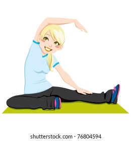 Cartoon Stretching Images Stock Photos Vectors Shutterstock