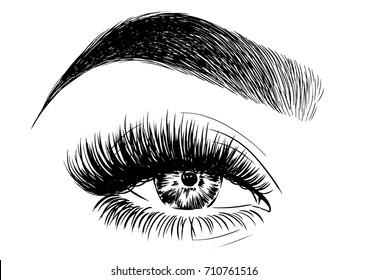gorgeous eyebrow