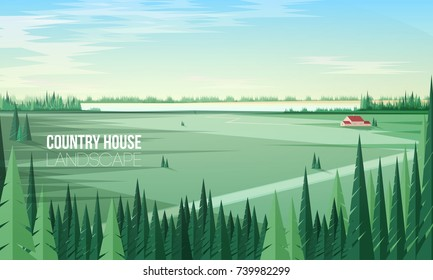 Forest Clearing Stock Vectors, Images & Vector Art