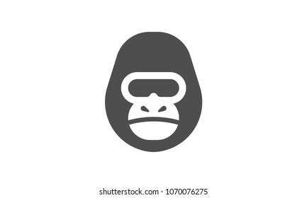 Gorilla Face Logo