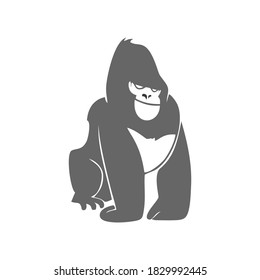 gorilla logo simple and clean