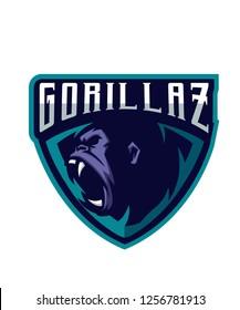 Gorillaz E Sports Logo