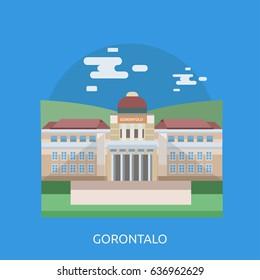 Gorontalo City of Indonesia Conceptual Design