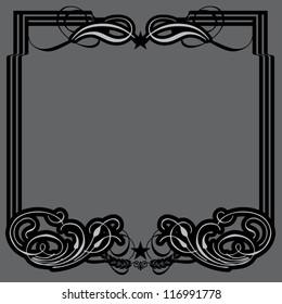 Gothic Flourish Frame