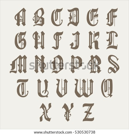 old gothic font