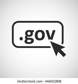 gov domain icon
