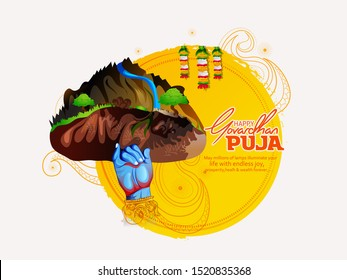 Goverdhan Puja as it is also known, is a Hindu festival