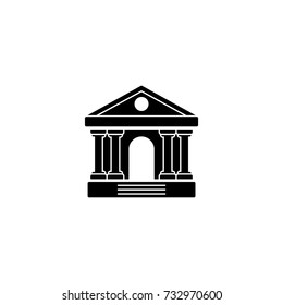 Governmental house, university, court, bank, museum icon