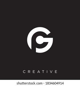 gp logo illustration design vector
