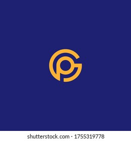 GP or PG monogram logo