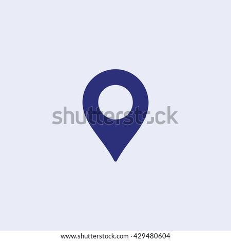 gps icon location icon navigation icon stock vector royalty free