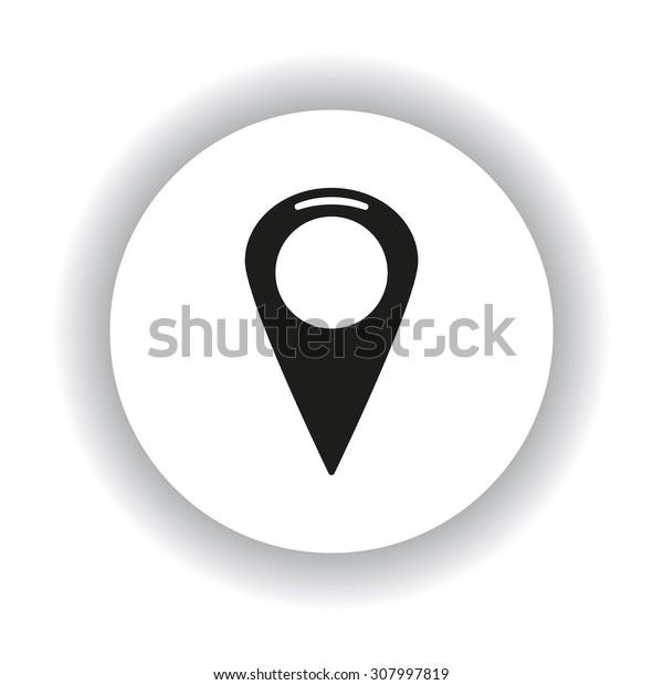 gps. icon. vector design
