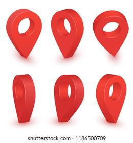 Imágenes, fotos de stock y vectores sobre Pin Localization