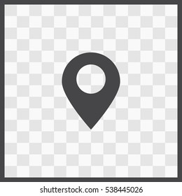 GPS vector icon. Isolated illustration. Business picture.