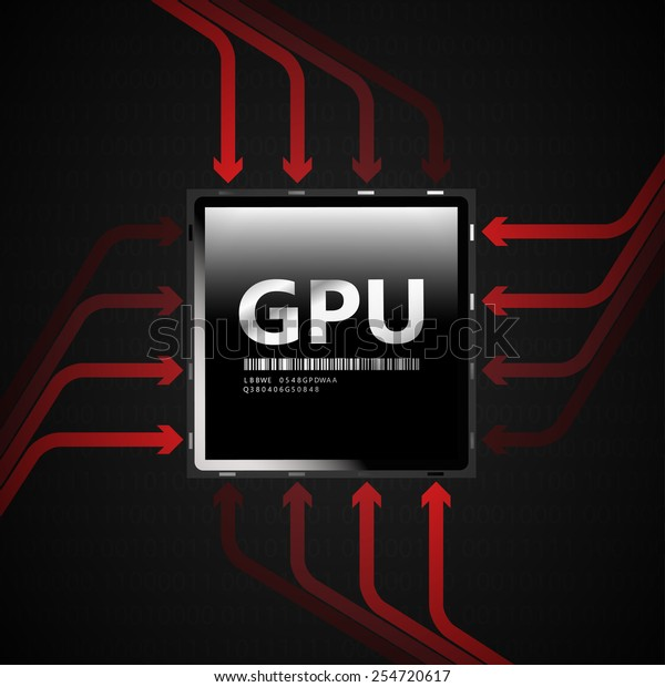 GPU | EPS10 Vector