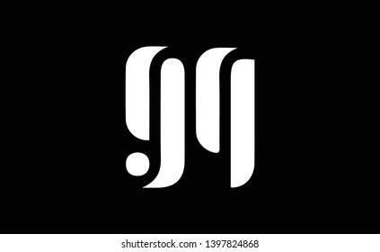 GQ logo design template vector illustration