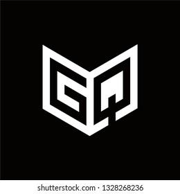 GQ Logo Letter Initial Monogram Capital Designs Templete