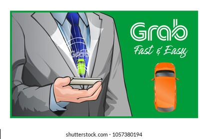 Grab - fast, easy and inexpensive transportation for every destination just want to go.