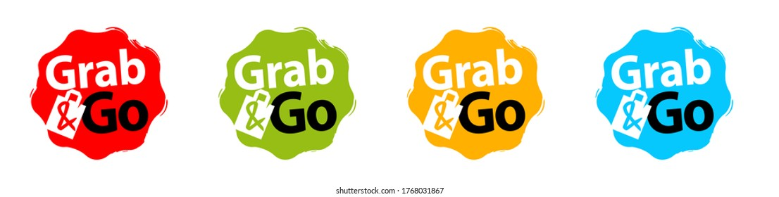 Grab & Go on color stamp