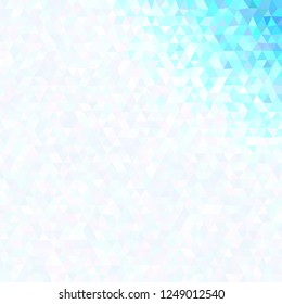 Gradient abstract polygonal triangle background template