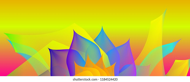 Gradient abstract space multicolored vector background with illustration specks. The pattern can be used for aqua ad, booklets, advertising and designers.