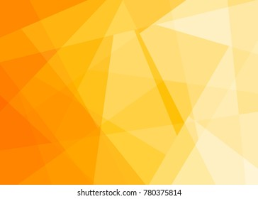 Gradient background in Amber from the Material Design palette