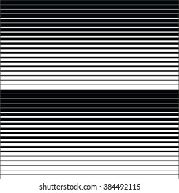 gradient background with black lines. Gradient lines background vector pattern, horizontal and vertical black stripes, parallel black lines from thick to thin