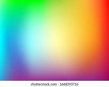 gradient background with rainbow color. vector background