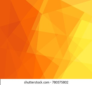 Gradient background in yellow and orange