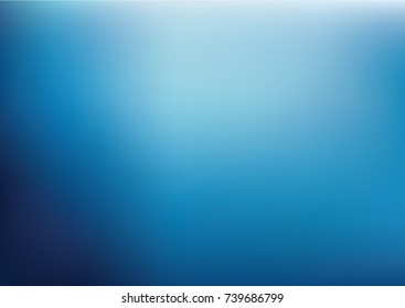Gradient blue abstract vector background