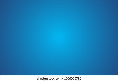 Gradient Blue Background. Vector illustration.
