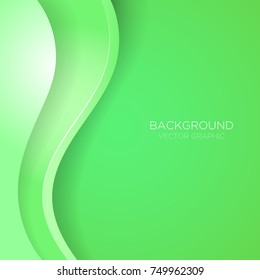 gradient curve background overlap layer with space for text and message design