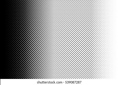 Gradient dots background. Pop-art texture. Pop art template. Vector illustration.