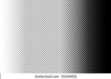 Gradient dots background. Pop-art texture. Pop art template. Vector illustration.
