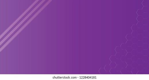 Gradient effect background. Design jigsaw stripes with hexagonal shape gradient purple on purple background. Design print for brochure, package, banner, background. Set 5