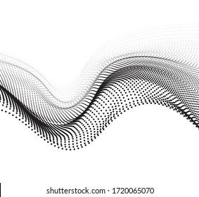 Gradient halftone pattern diagonal vector illustration. black dots, halftone texture. Pop Art halftone, comics Background.