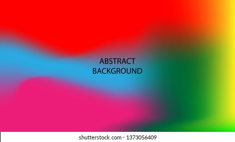 Gradient mesh abstract background. Blurred bright colors mesh background - vector