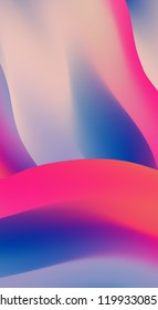 Gradient Mesh vector can be used as a screen saver on a computer screen, smartphone