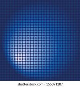Gradient mosaic blue pattern