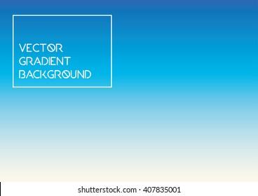 gradient sky background vector