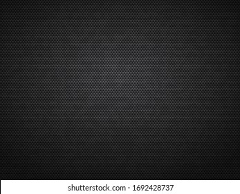Gradient square or rectangle composition creating texture. Fabric with small geometric details flat vector illustration.