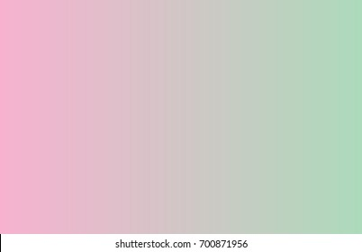 gradient vector background - light pink, mint green