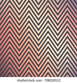 Gradient zigzag pattern. Abstract geometric background. Simple image, illustration. Luxury style. Print emblem, label, banner, cover, card, tie, shirt, website, web, wrapper. Summer, spring, autumn
