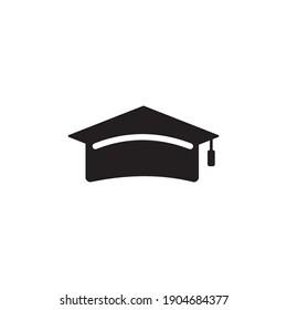graduate hat icon symbol sign vector