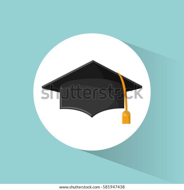 graduation cap education symbol