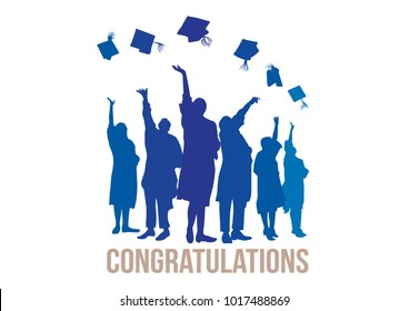 Graduation Ceremony Happy