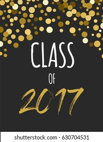 Graduation Class of 2017, party invitations, posters, banner